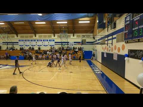 Bob Jones Academy - Varsity Boys Basketball - Senior Night - February 5, 2021 -  9 of 15