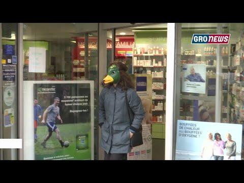 Masque contre le Coronavirus - Groland - CANAL+