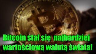 Bitcoin wart ponad 10 tysięcy dolarów – stał się najbardziej wartościową walutą świata!