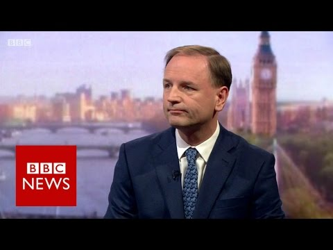 'Brexit will put NHS at risk' says Simon Stevens - BBC News