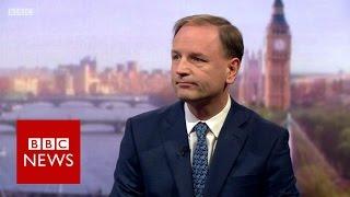 'Brexit will put NHS at risk' says Simon Stevens - BBC News