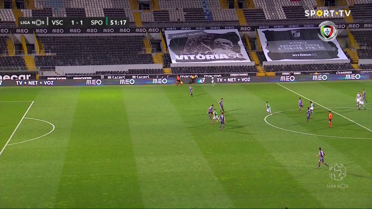 Витория Гимарайнш  2-2  Спортинг Лиссабон видео