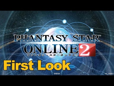 Phantasy Star Online 2 Gameplay First Look – MMOs.com