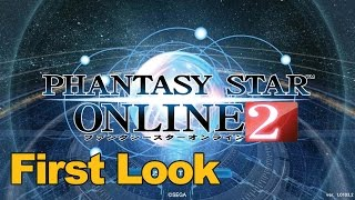 Phantasy Star Online 2 Gameplay First Look - MMOs.com