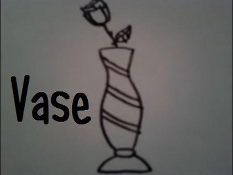 Dessiner un vase youtube - Dessiner un vase ...