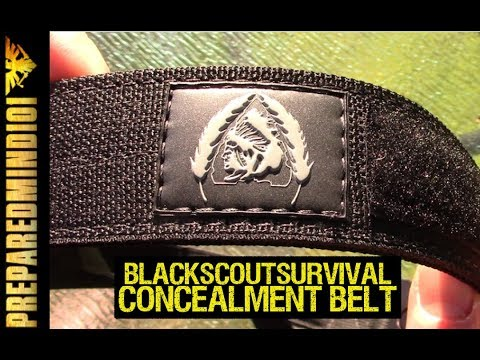 BlackScoutSurvival Concealment Belt: Urban E&E Belt - Preparedmind101