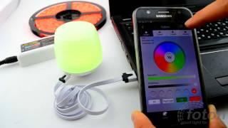 Блок WI FI RGBRGBW iBox Smart Light подключение блока