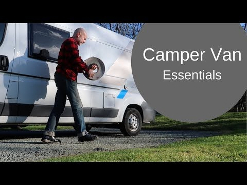 Camper Van Essentials: What I wish I'd known, & useful accessories