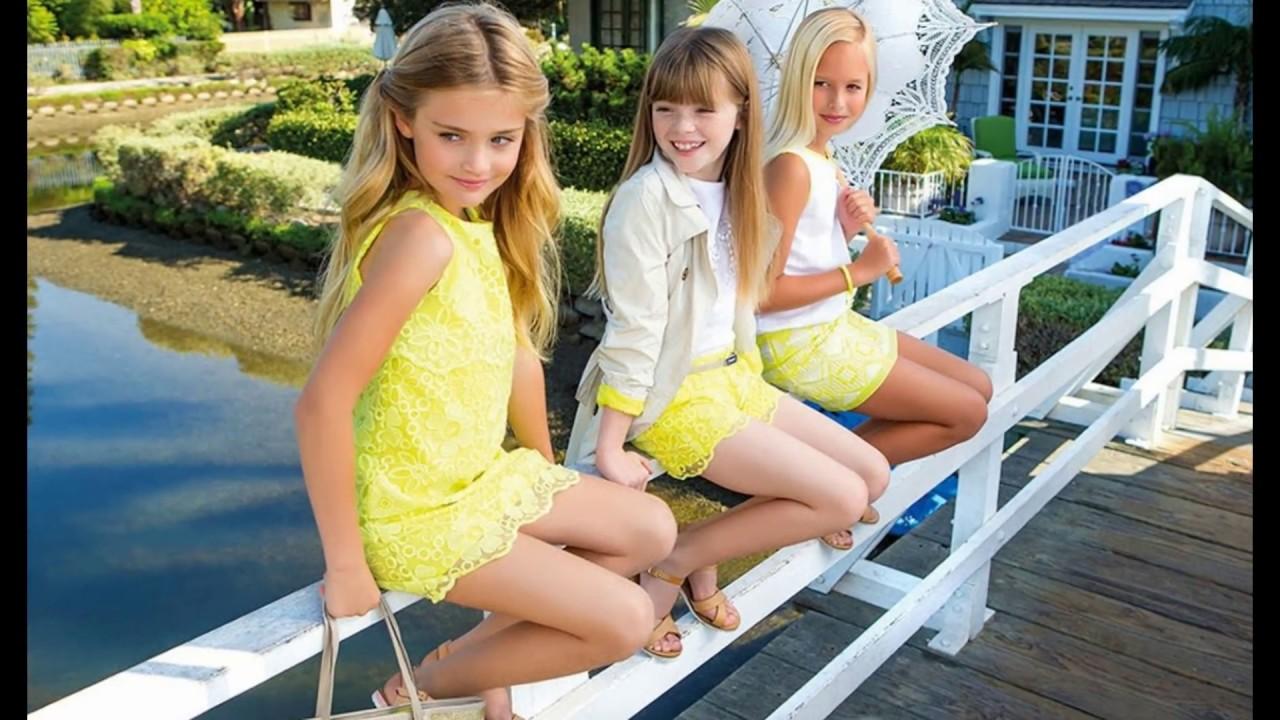 0f02e6daf03 Летняя одежда для девочек - YouTube