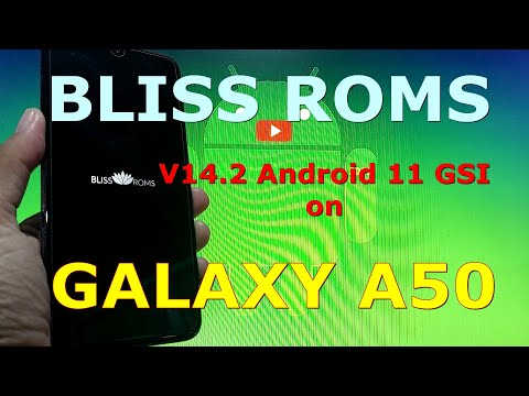 BlissRoms v14.2 Android 11 for Samsung Galaxy A50 - GSI