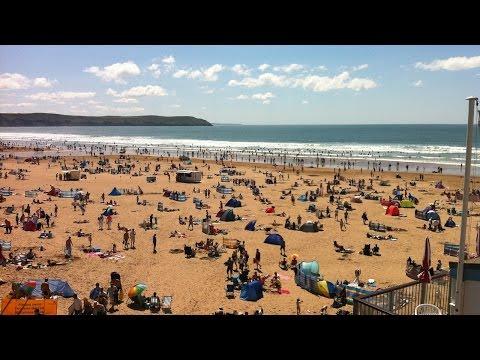 Woolacombe Beach, Devon, UK