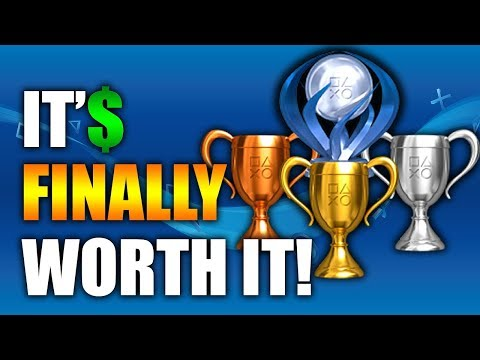 PS4 Trophies Now Reward You With Free PSN Credit! (But It's Not As Awesome As It Seems...)