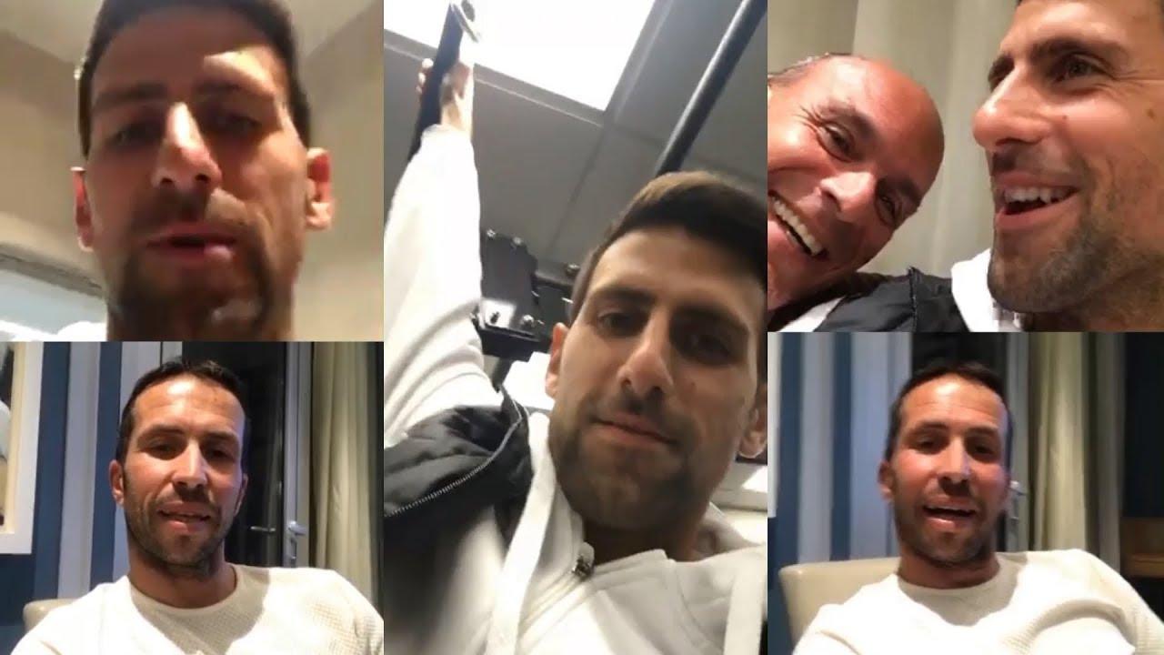 Novak Djokovic Instagram