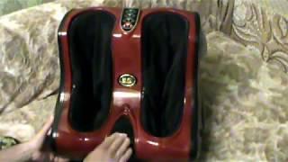 Видео обзор массажера для ног из Китая