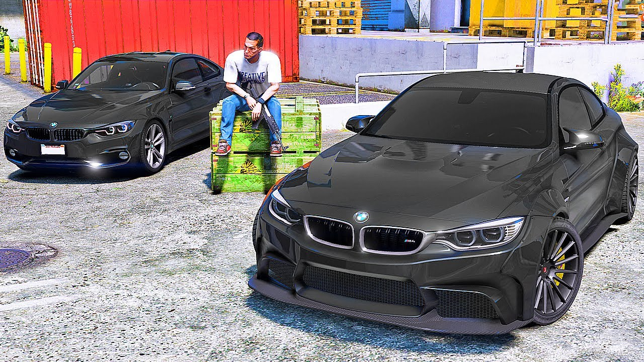 КУПИЛ BMW ДЛЯ ОГРАБЛЕНИЯ! ПОДГОТОВКА К ОГРАБЛЕНИЮ БАНКА - РЕАЛЬНАЯ ЖИЗНЬ В GTA 5 ⚡ГАРВИН