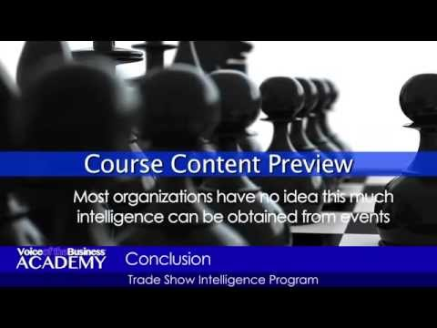 Course Preview: Implementing a Trade Show Intelligence Program