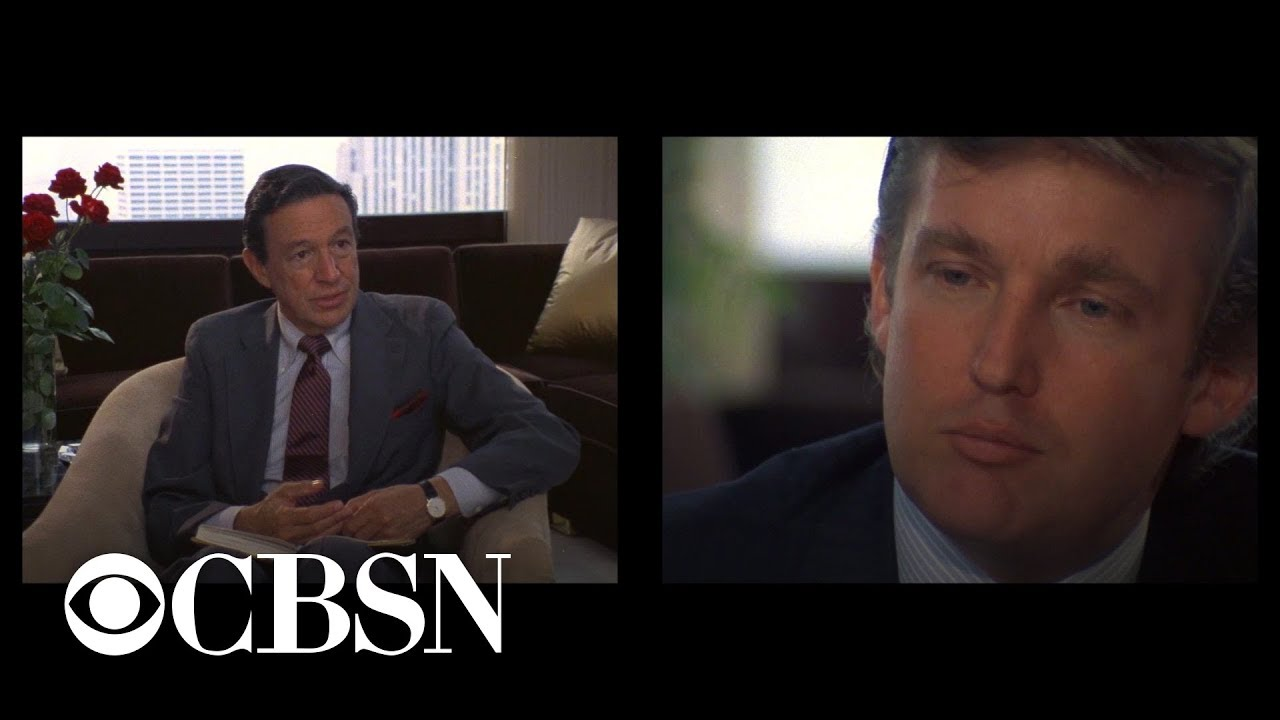 Mike Wallace grills Donald Trump about future in politics in 1985