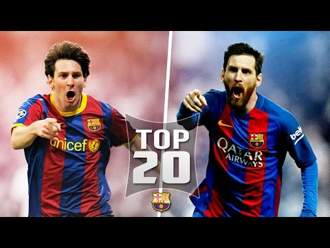 Thumbnail: Lionel Messi Top 20 Goals out of all 500 For Barcelona (English Commentary)
