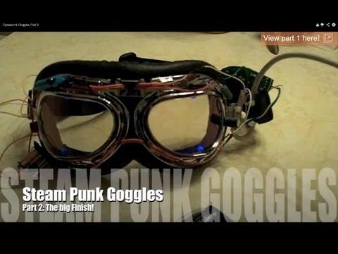 Cyberpunk Goggles Part 2