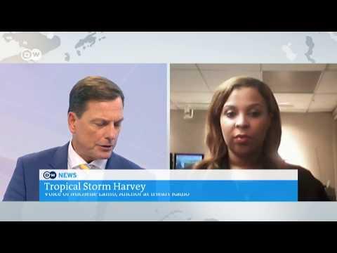 Live Harvey reports - Deutsche Welle TV - 6am & 7am newscasts