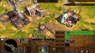 Age of Empires III The WarChiefs Gameplay Campaign Fire Act I Saratoga