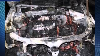 В Вологде задержали банду поджигателей авто