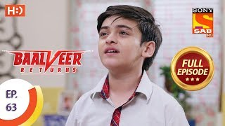 Baalveer Returns - Ep 63 - Full Episode - 5th December 2019