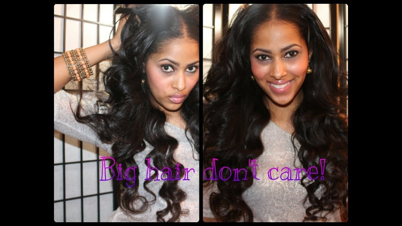 Lilly ghalichi inspired hair tutorial big sexy hair youtube pmusecretfo Choice Image