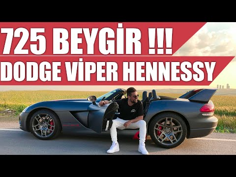 725 Beygirlik Dodge Viper Hennessey | Türkiye'de Kullandık