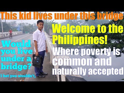 Travel to the Philippines and Meet this Boy Who Lives Under the Bridge. The Real Filipino Society