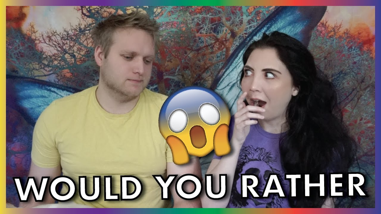 The Most DIFFICULT Game Of 'Would You Rather'