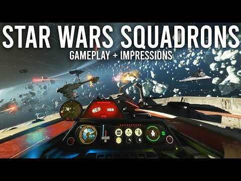 Star Wars Squadron - Gameplay Video Reveal Trailer - EA Games |