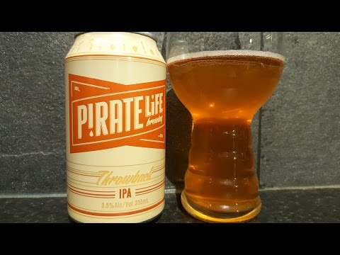 Pirate Life Throwback IPA By Pirate Life Brewing Company | Australian Craft Beer Review