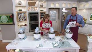 KitchenAid 100-Year Limited Edition 5-qt Stand Mixer on QVC