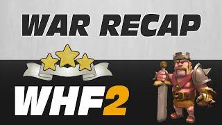 WHF2 - War Recap #4