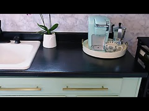 How to Paint Laminate Kitchen Countertops - DIY Network