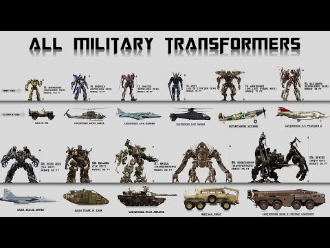 The 15 Military Aircraft and Vehicles Seen in Transformers