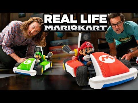 Let's Play: Mario Kart Live (Around The GMM Studio!)