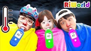 Sick Song  Children Songs & Nursery Rhymes | 病気の歌 - 子供の歌&童謡- Kinderlieder und lernen Farben lernen