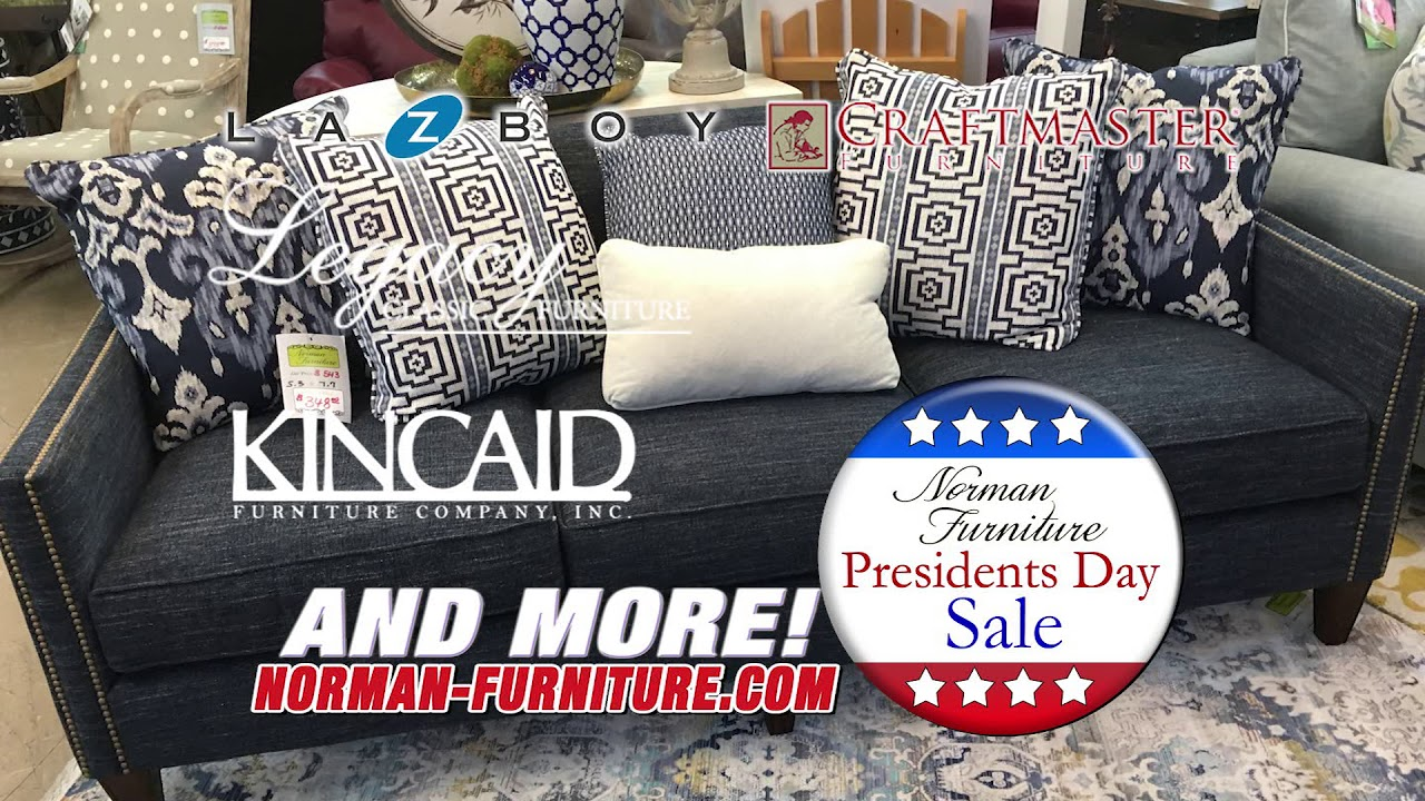Norman Furniture Presidents Day Sale 2019
