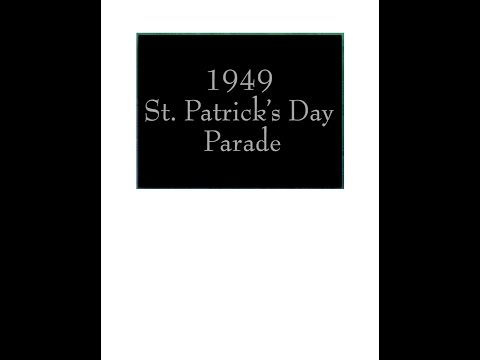 1949 St. Patrick's Day Parade