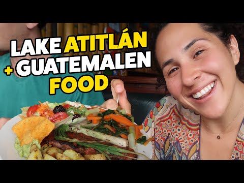 Lake Atitlán & Best Meal In Guatemala | Guatemala Travel Series PT 2 | WhatWouldKarlaSay