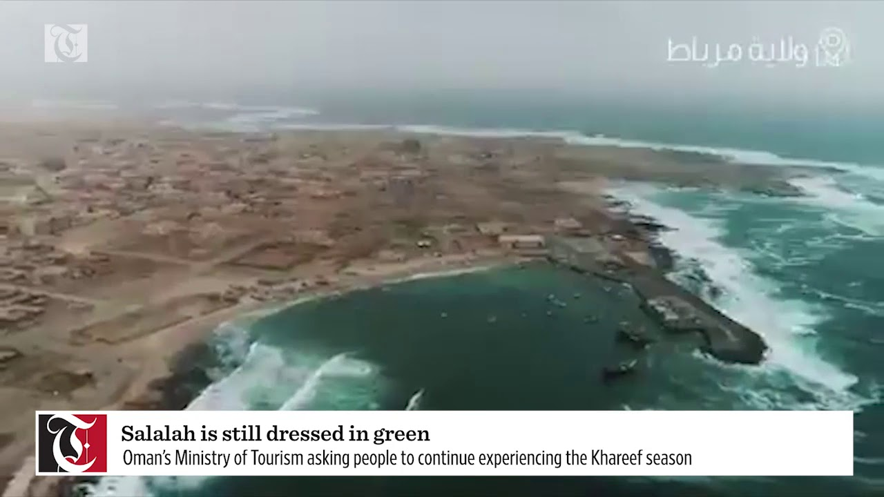Salalah is still dressed in green