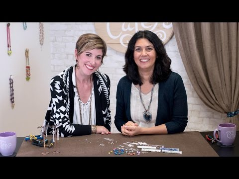 Artbeads Cafe - Making Chain Tassel Earrings with Candie Cooper and Cynthia Kimura