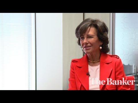 Interview with Santander's chairperson Ana Patricia Botín: new acquisition style