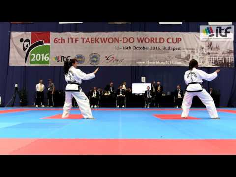 Veteran Female 2nd Degree Patterns Final - ITF World Cup 2016 - Budapest