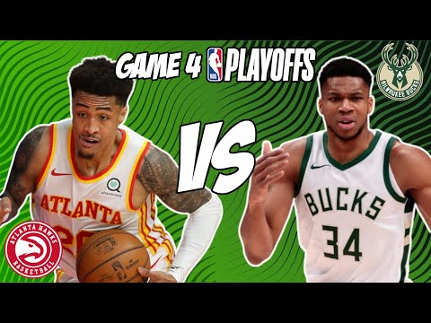 Atlanta Hawks vs Milwaukee Bucks Game 4 6/29/21 NBA Playoff Free NBA Pick & Prediction