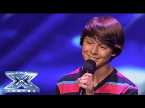 Stone Martin - Little Guy Rocks Little Things - THE X FACTOR USA 2013