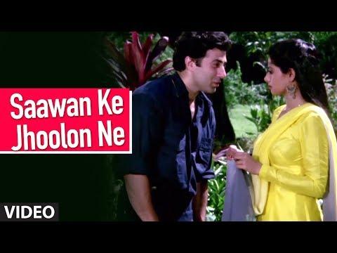 Saawan Ke Jhoolon Ne [Full Song] | Nigahen | Sunny Deol, Sridevi