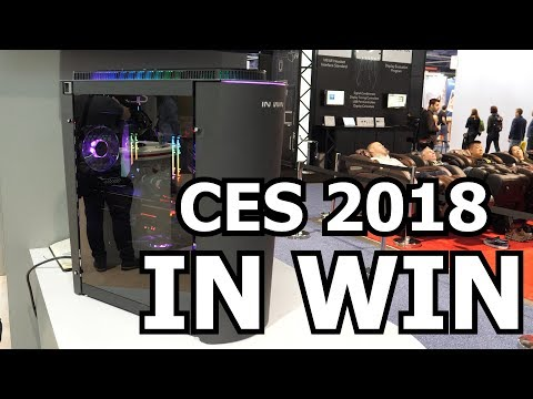 In Win's New 915 And A Partnership With EKWB! CES 2018